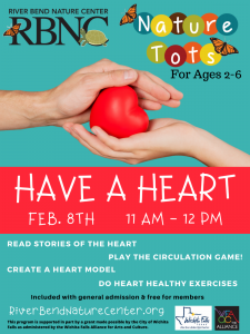 RBNC: Have a Heart @ Riverbend Nature Center