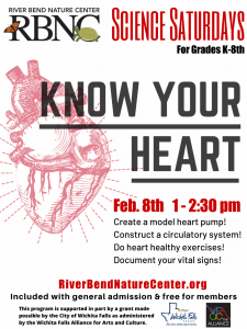 RBNC: Know your Heart @ River Bend Nature Center