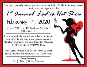 1st Annual Ladies Hat Show @ Y.O.C.