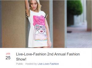 2nd Annual Live-Love-Fashion Show! @ Candy Night Club