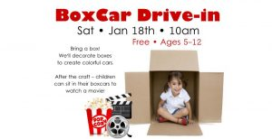 BoxCar Drive-In at the WFPL @ Wichita Falls Public Library
