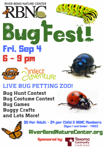 RBNC - Bug Fest! @ River Bend Nature Center