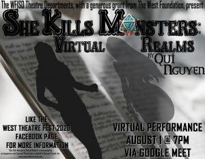 VIRTUAL! The WFISD Theatre Departments: WestTheatreFest 2020 @ Virtual Performance