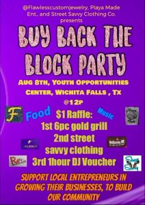Y.O.C. Buy Back the Block @ Youth Opportunities Center