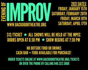 Backdoor Theatre: An Evening of Improv @ Wichita Falls MPEC