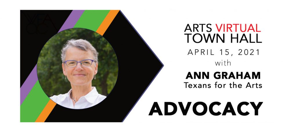 Arts Virtual Town Hall with Ann Graham